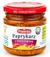 ВЕГА паста из болгарского перца с кукурузной кашей, 160 гр Primaeco