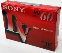 Кассеты mini DV SONY premium 60