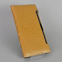 Кошелек кожаный женский коричневый съемный отдел 035, фото 1