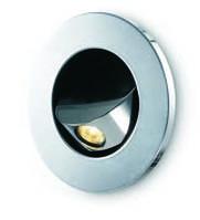 Светодиодный, встраиваемый в стену светильник, фото 1