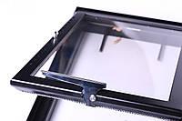 Дверца каминная Жарко со стеклом на заказ