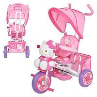 "Детский трехколесный велосипед ""Hello Kitty"", M1661"