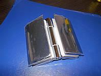 Петля для дверей стекло - стекло 52 х 89