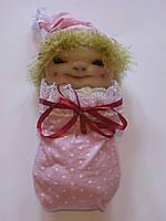 "Текстильная кукла ""Baby"" - оберег для мамочек"