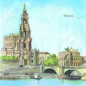 "Салфетки для декупажа ""Дрезден"" DRESDEN 33*33 см №124"