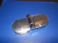 Петля для дверей стекло - стекло круглая, фото 1