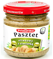 ВЕГА паштет с оливками, 160 гр Primavika