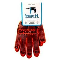 Перчатка для механических работ Presto-PS, № 526 оранжево/черная.