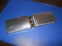 Петля для дверей стекло - стекло 89 х 52, фото 1