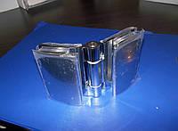 Петля для дверей стекло - стекло 45 х 70