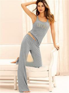 Женские пижамы, домашние костюмы с брюками (короткий рукав)