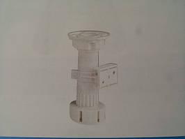 Ножка кухонная белая 100мм (неразб)