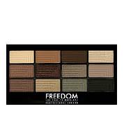 Палетка теней для век Freedom Makeup PRO STUNNING SMOKES