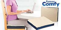 Ортопедическая подушка Forever Comfy, гелевая подушка Фореве Комфи, ортопедическое сиденье, квадратная подушка
