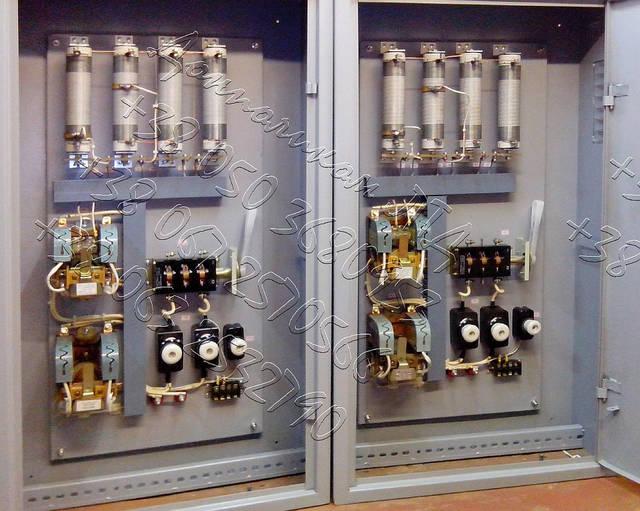 ПМС-50, ПМС-80, ПМС-150, ПМС-160 панели управления электромагнитами 7