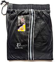 Штаны спортивные мужские AO Longcom, размеры XL-5XL, модель 0363, чёрные 001