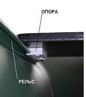 Комплект крепления подвижного сиденья (ликтрос-ликпаз) +клей, фото 1