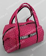 """Женская сумка """"CHANEL"""" тёмно-розовый с узором"""