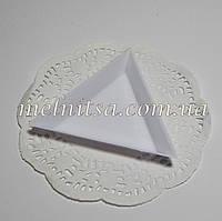 Тарелочка для страз, бисера, бусин,  треугольная,  7 см