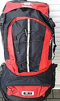 Туристический рюкзак  KABAONU 75 л красный