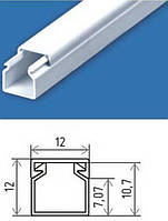 Кабель-канал для крепления плёнки на раме или каркасе