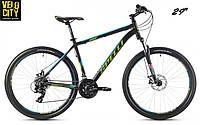 "Spelli SX-2500 29"" велосипед 2016 черно-голубой"