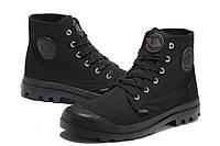 Ботинки мужские Palladium Pampa черные