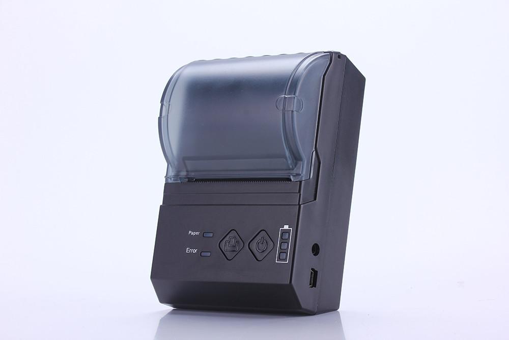 Мобільний чековий принтер 58мм NT-58101 безпровідний, bluetooth вбудований акумулятор, IOS, Android, Windows