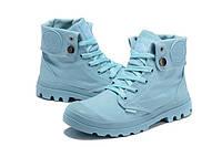 Женская обувь Palladium Pampa голубые