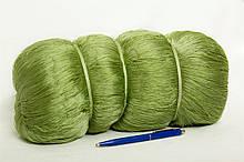 Кукла рыболовное сеточное-полотно из нитка капрон плетение 29*2 размер 100*150 ячеек-метров ячейка 16 18 20 мм