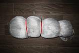 Кукла рыболовное сеточное-полотно из нитка капр тройник плет 23*3 разм 80*150 яч-мет яч 40 45 50   мм, фото 3