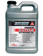 Моторное масло QuickSilver 2T TCW3 Premium 10л