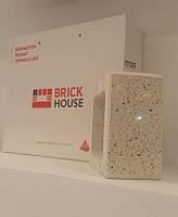 Кирпич BRICK HOUSE полированный половинка с фаской