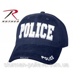 "Бейсболка поліцейського ""Police"" синя ROTHCO США"