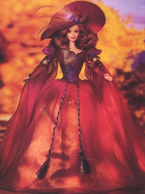 Кукла Барби коллекционная Осень / Enchanted Seasons Collections Autumn