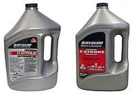 Моторне масло QuickSilver 2T TCW3 Premium 4л