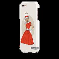 Чехол-накладка для iPhone 5/5S Бельчонок
