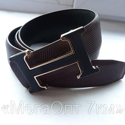 Ремень мужской бренд кож-зам 40мм купить оптом в Одессе недорого модные 7км, фото 2