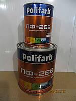 Эмаль алкидная для пола Полифарб ПФ-266 ГОСТ 0,9 кг