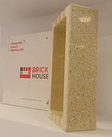 Кирпич BRICK HOUSE полированный тычковой с фаской
