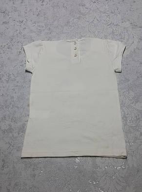 Нарядная футболка для девочек 86,92,104 роста Кошечка-принцеса, фото 2