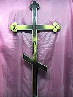 Крест сосна узкий с рисунком