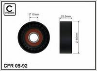 Ролик натяжителя ремня генератора FIAT DOBLO 1.6/2.0D Multijet CAFFARO 05-92