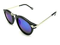 Солнцезащитные очки унисекс хамелеоны с синими стёклами UV400
