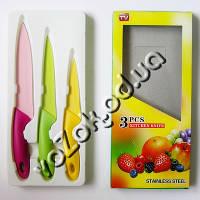 Набор кухонных цветных ножей с керамическим покрытием 3 pcs kitchen knife