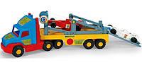 Дитячий вантажівка з машинками Формула 1 Wader Super Truck 36620, фото 1