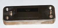 Теплообменник вторичный, пластинчатый для котлов Baxi Eco3, Luna3, Luna, Eco . Код: 17B2071000
