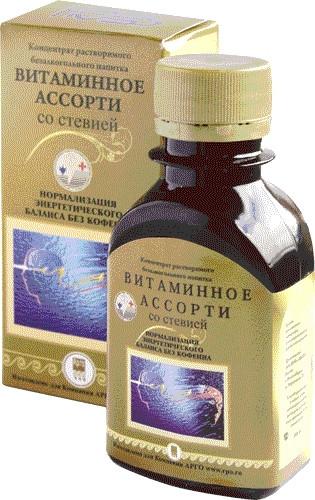 Вітамінне асорті концентрат - енергетичний баланс без кофеїну
