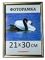 Фоторамка пластиковая 21х30, рамка для фото 1512-258