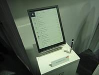 """Sony показала гибкие E-Ink панели, на которой можно """"писать"""""""